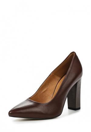 Туфли Keryful. Цвет: коричневый