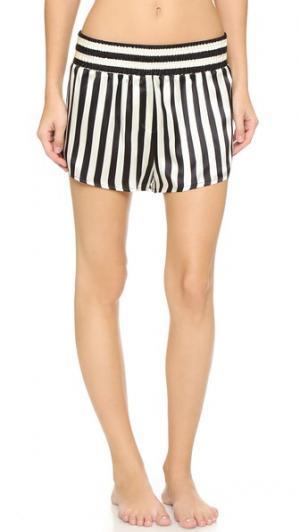 Пижамные шорты Amanda Fatherazi Corey Morgan Lane. Цвет: мульти