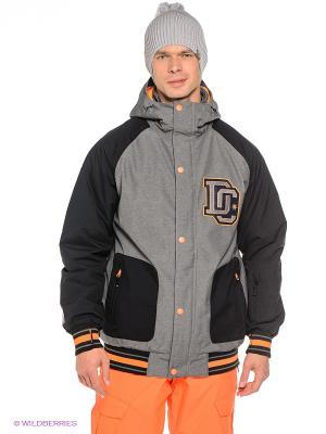 Куртка DCLA 15 DC Shoes. Цвет: серый, черный