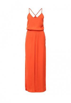 Комбинезон Vero Moda. Цвет: оранжевый
