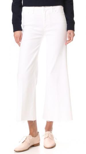 Укороченные потрепанные джинсы Roller MOTHER. Цвет: хрустальный башмачок