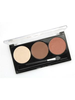 Палетка теней POETEA PARTY Mousseline 5344 Nude Vanille , тон 44. Цвет: терракотовый, коричневый, молочный