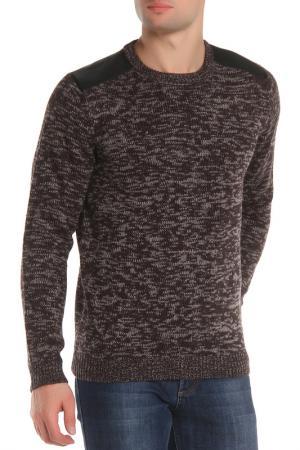 Джемпер DISSIDENT. Цвет: black & dove grey