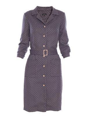 Платье Sarafan. Цвет: фиолетовый