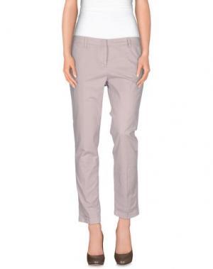 Повседневные брюки GOOD MOOD. Цвет: розовый