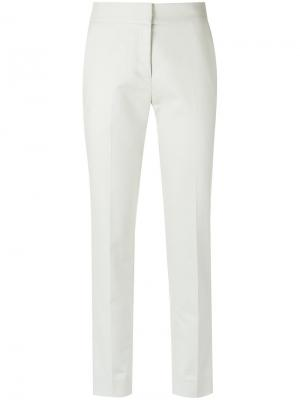Straight cropped trousers Andrea Marques. Цвет: телесный