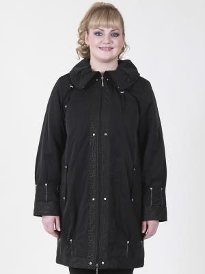Куртка Бритта VIKO. Цвет: черный