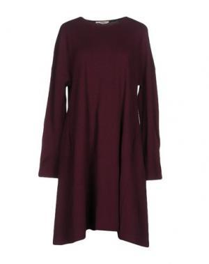 Короткое платье BARBON. Цвет: фиолетовый