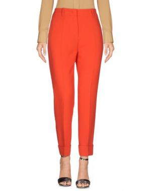 Повседневные брюки MANTÙ. Цвет: красный