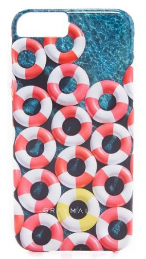 Чехол Red Inner Tubes для iPhone 6/6s Gray Malin