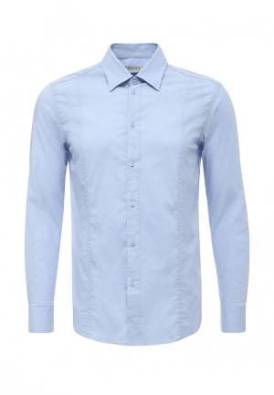 Рубашка Forex. Цвет: голубой