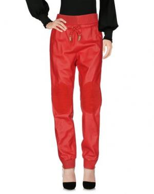 Повседневные брюки GIUSEPPE ZANOTTI DESIGN. Цвет: красный