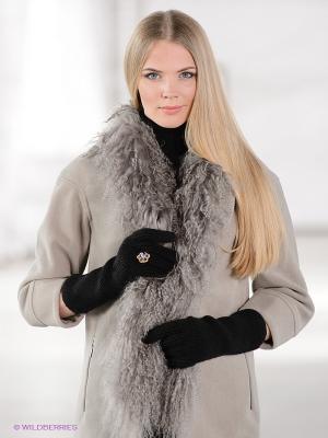 Перчатки TOM FARR. Цвет: черный