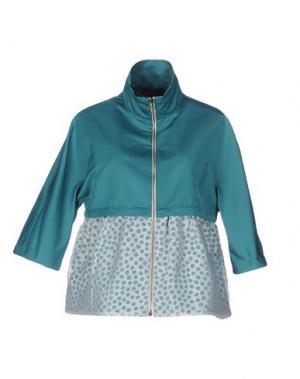 Куртка +MINI. Цвет: изумрудно-зеленый