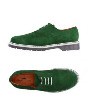Обувь на шнурках DOMENICO TAGLIENTE. Цвет: зеленый