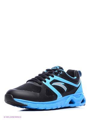 Кроссовки ANTA. Цвет: черный, синий, серебристый