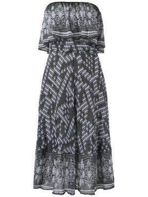 Knit midi dress Cecilia Prado. Цвет: чёрный