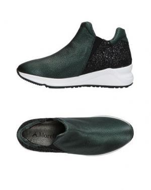 Низкие кеды и кроссовки ANDREA MORELLI. Цвет: темно-зеленый