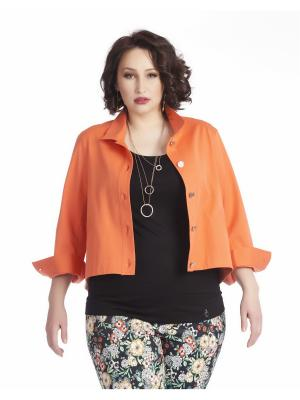 Жакет AVERI. Цвет: светло-оранжевый