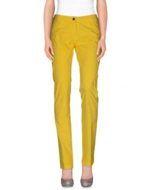 Повседневные брюки HEAVEN TWO. Цвет: желтый