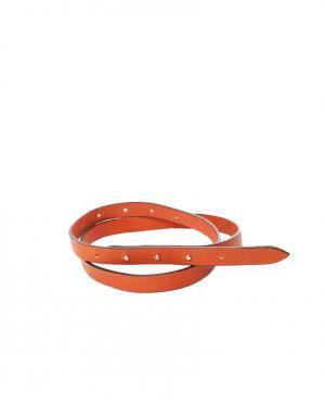 Ремень La Fabrique. Цвет: оранжевый