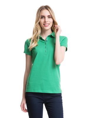 Футболка-поло U.S. Polo Assn.. Цвет: зеленый