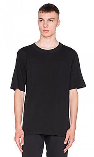 Простая футболка Wil Fry. Цвет: черный