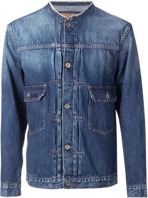 Джинсовая куртка Clothsurgeon. Цвет: синий