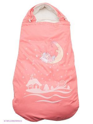 Конверт-одеяло Сказка Аксарт. Цвет: персиковый