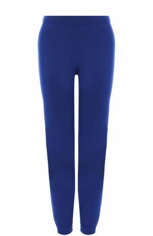 Укороченные брюки с манжетами Balenciaga. Цвет: синий