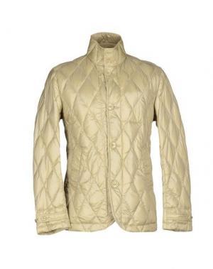 Пуховик BPD BE PROUD OF THIS DRESS. Цвет: бежевый