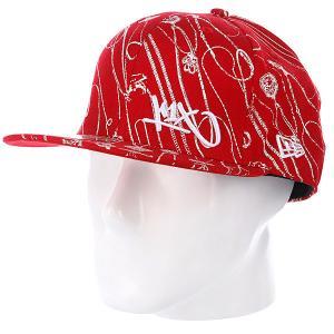 Бейсболка New Era  NewEra Let Chain Hang Low Cap Red K1X. Цвет: красный