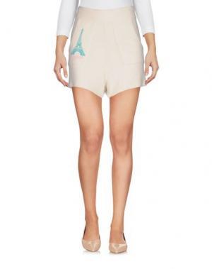 Повседневные шорты WILDFOX. Цвет: слоновая кость