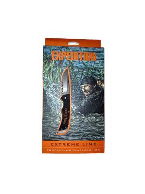 Нож Extreme компактный складной Экспедиция. Цвет: серебристый
