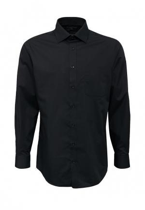 Рубашка Marks & Spencer. Цвет: черный