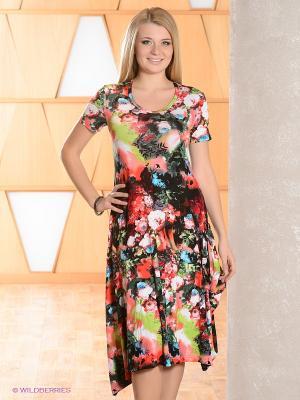 Платье МадаМ Т. Цвет: черный, зеленый, бордовый, коралловый, розовый