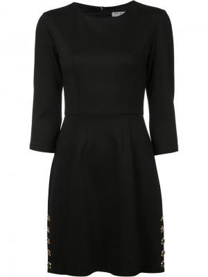 Платье Flush Trina Turk. Цвет: чёрный