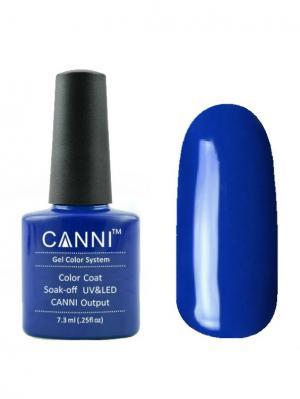 Гель лак №35 CANNI. Цвет: синий