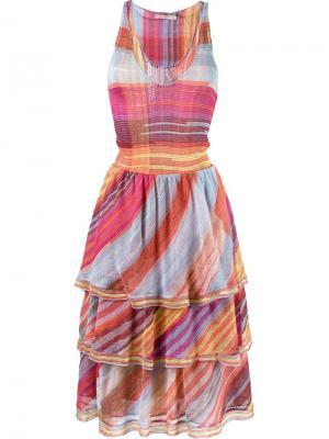 Вязаное платье Cecilia Prado. Цвет: многоцветный