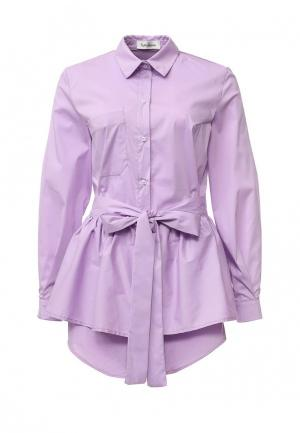Рубашка Tutto Bene. Цвет: фиолетовый