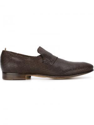 Туфли-слипон Serge Officine Creative. Цвет: коричневый