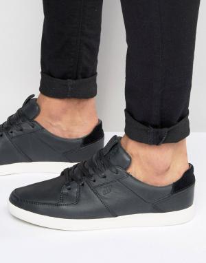 Boxfresh Кожаные кроссовки Cladd. Цвет: черный