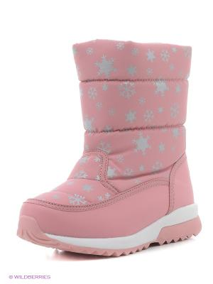 Дутики Kapika. Цвет: розовый