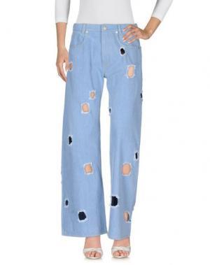 Джинсовые брюки REJINA PYO. Цвет: синий