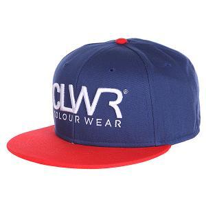 Бейсболка  Cap Patriot Blue CLWR. Цвет: синий,красный