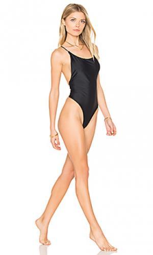 Слитный купальник lola Mia Marcelle. Цвет: черный