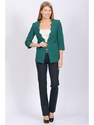Пиджак Modaleto. Цвет: зеленый