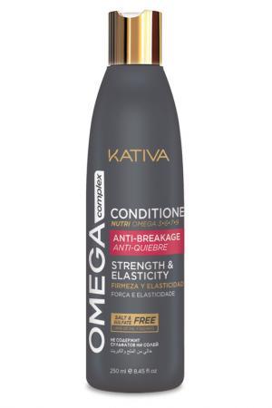 Кондиционер для волос 250 мл Kativa. Цвет: none