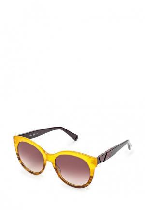 Очки солнцезащитные Max&Co. Цвет: желтый
