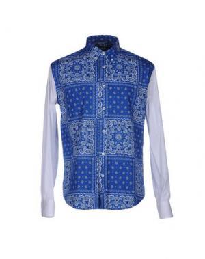 Pубашка DEPARTMENT 5. Цвет: синий
